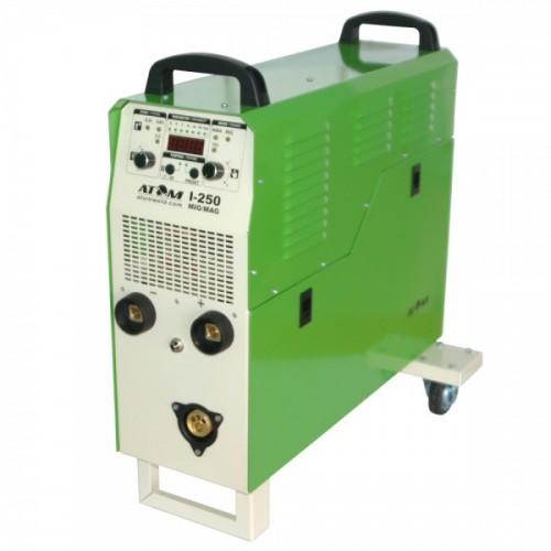 Сварочный инверторный полуавтомат Атом I-250 MIG/MAG 220V (с горелкой и каб. массы)